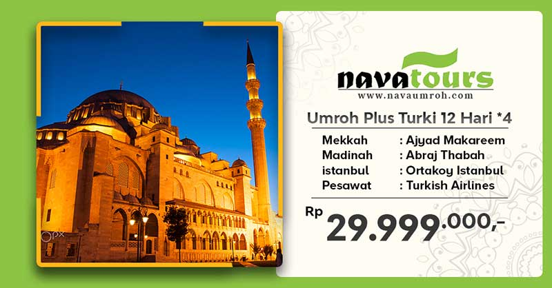 umroh plus trk bnt 4 12hr nava travel