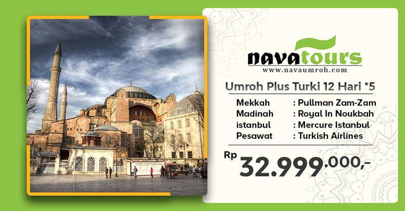 umroh plus trk bnt 5 12hr nava travel
