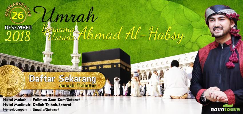 Umrah Bersama Ustad Ahmad Alhabsyi