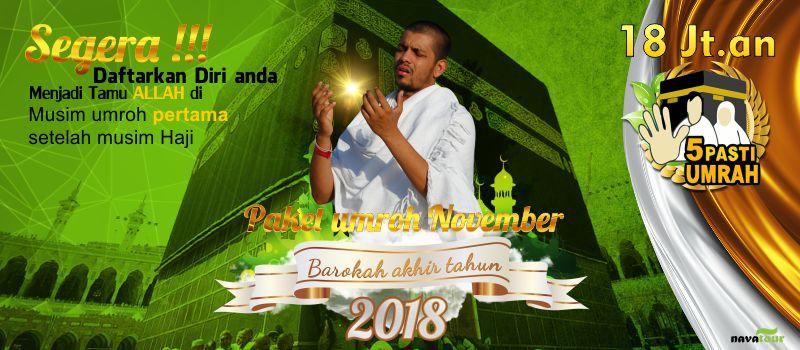 Umroh November 2018 Nava Tour