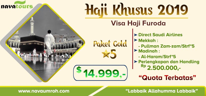 paket haji plus 2019 - nava tour