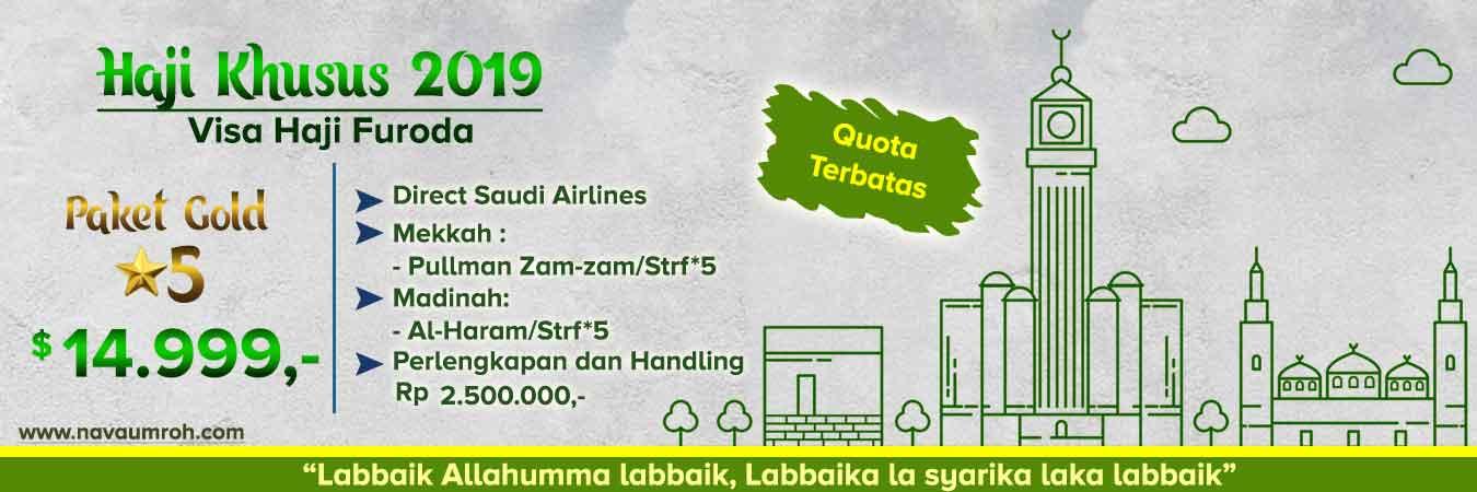 Haji Plus Khusus 2019 Visa Furoda Hotel 5 Nava Tour
