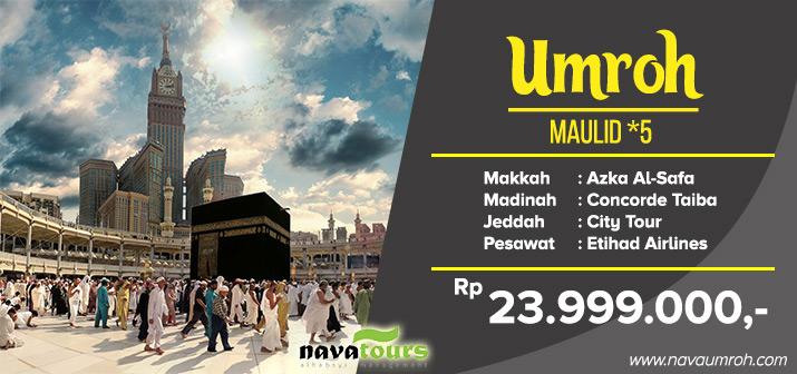 Paket Umroh Maulid 2019 Bersama Travel Nava Tour