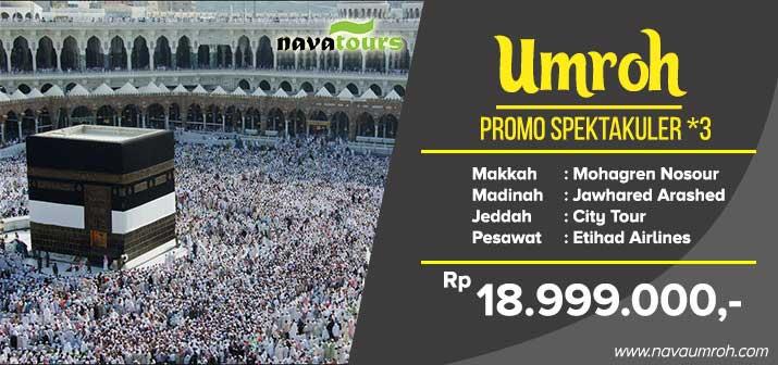 Umrah murah promo bintang 3 Nava Tour