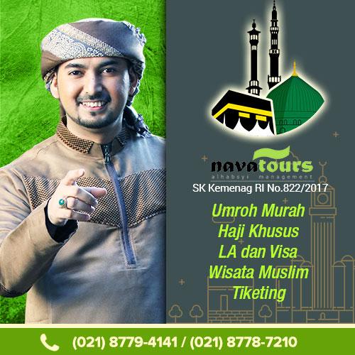 umroh nava tour resmi milik ustad alhabsyi