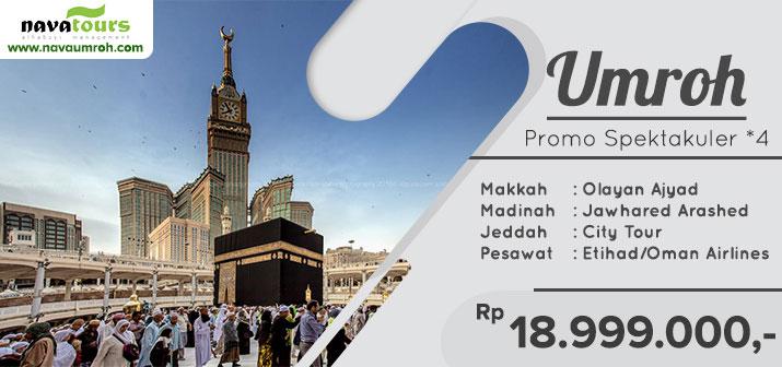 Umrah murah promo bintang 4 Nava Tour