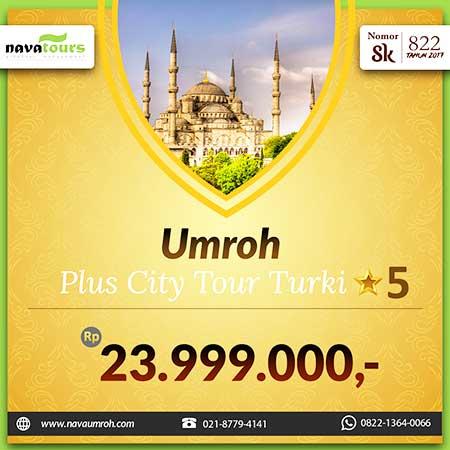 umrah pls city tour trk bnt 5 rp 23 jtan nava tour