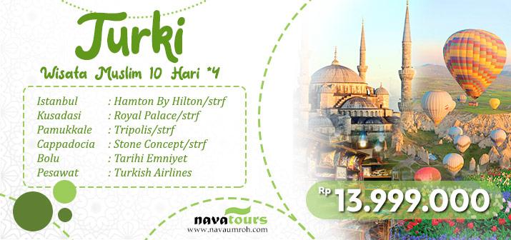 tour wisata muslim turki nava tour